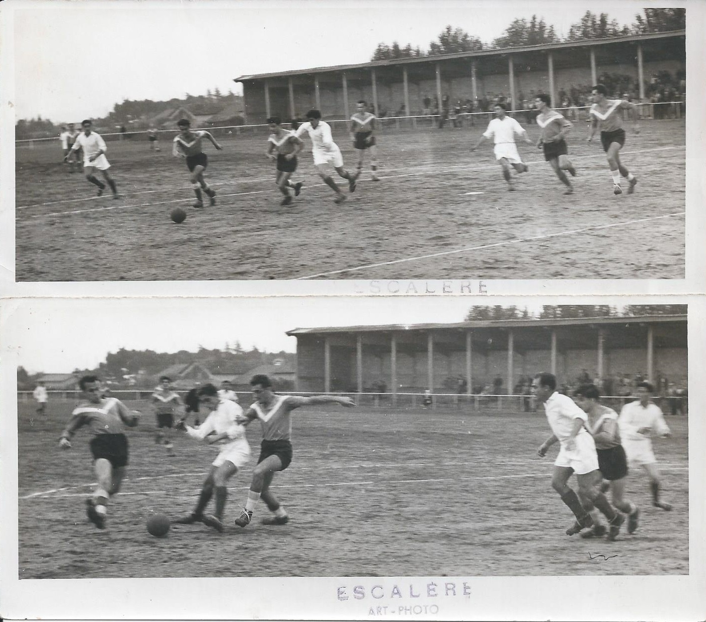 Action 18.10.1954 stade bonnaud